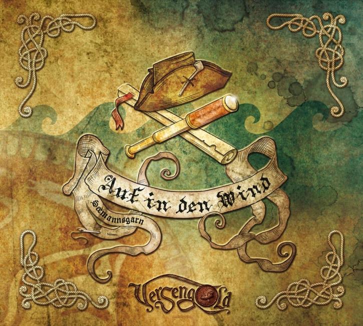 VERSENGOLD Auf In Den Wind - Seemannsgarn CD Digipack 2014