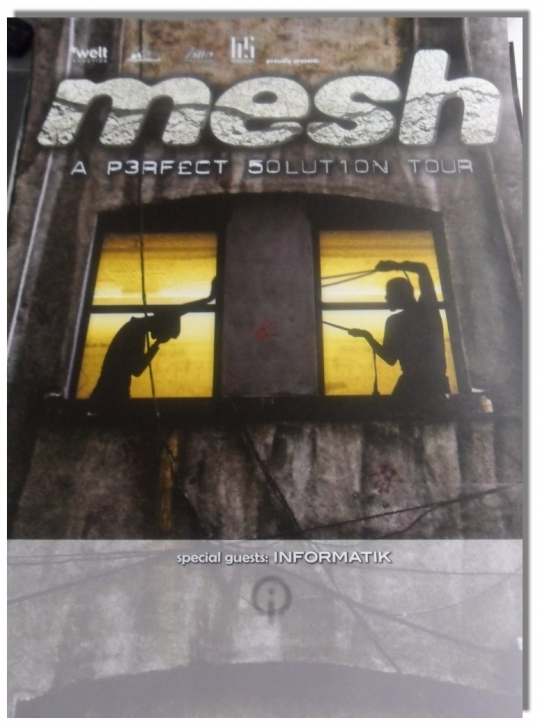 MESH A Perfect Solution Tour POSTER DIN A1
