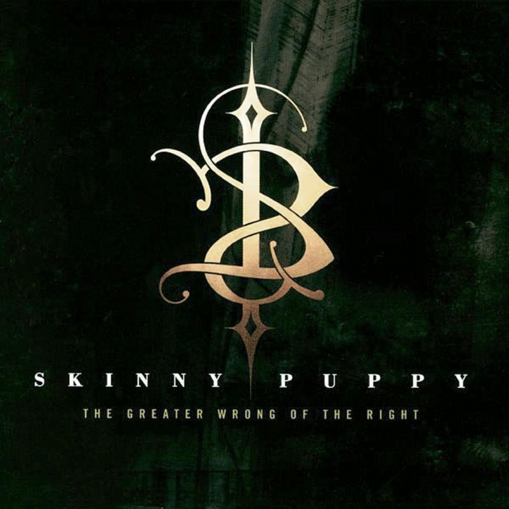 SKINNY PUPPY The Greater Wrong of the Right (US Edition) CD Digipack 2014