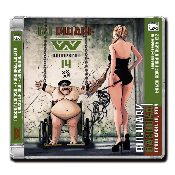 WUMPSCUT DJ Dwarf 14 CD 2014 LTD.500