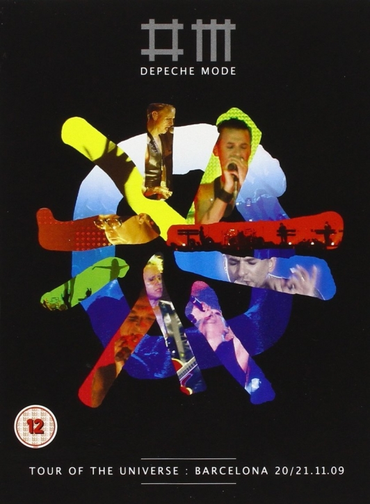 DEPECHE MODE Tour of the Universe, Barcelona LTD.2DVD+2CD DELUXE EDITION MUTE
