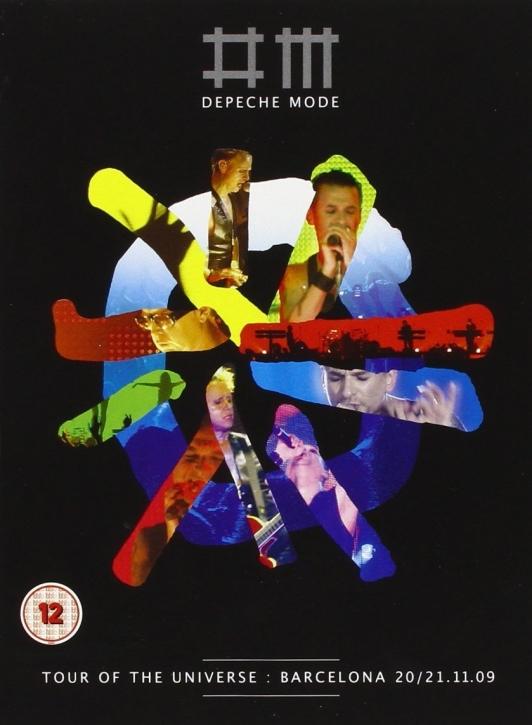 DEPECHE MODE Tour of the Universe, Barcelona LTD.2DVD+2CD DELUXE EDITION MUTE
