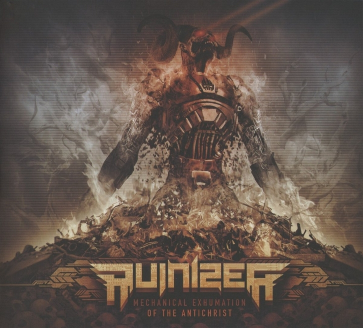 RUINIZER Mechanical Exhumation Of The Antichrist CD Digipack 2014 LTD.200