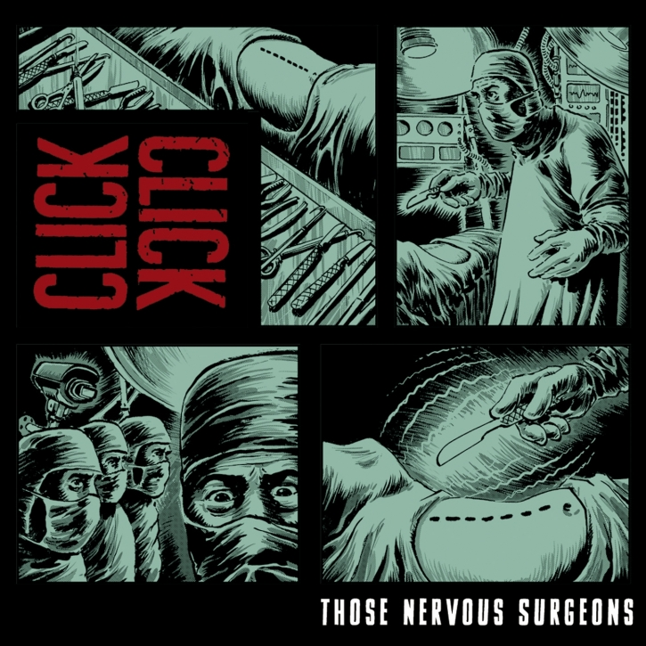 CLICK CLICK Those Nervous Surgeons CD Digipack 2014