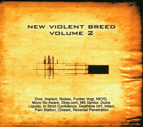 NEW VIOLENT BREED VOL.2 CD Funker Vogt DIVE In Strict Confidence