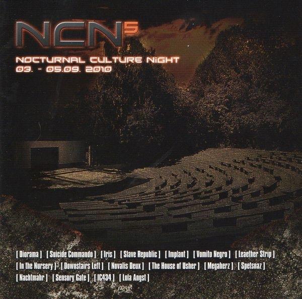 NCN 5 - Festival Sampler CD Suicide Commando NACHTMAHR Megaherz
