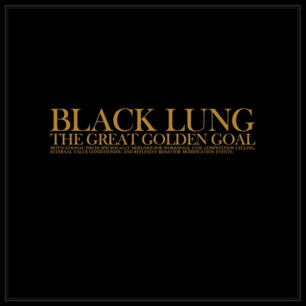 BLACK LUNG The Great Golden Goal CD Digipack 2014 ant-zen