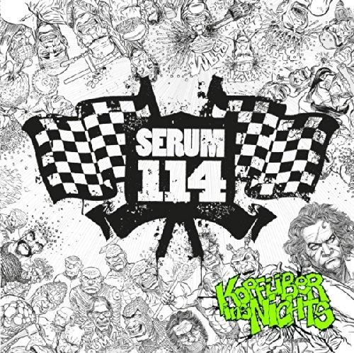 SERUM 114 Kopfüber Ins Nichts LP VINYL+CD 2014 LTD.500