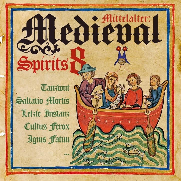 MEDIEVAL SPIRITS VOL.8 CD Feuerschwanz LETZTE INSTANZ Ignis Fatuu
