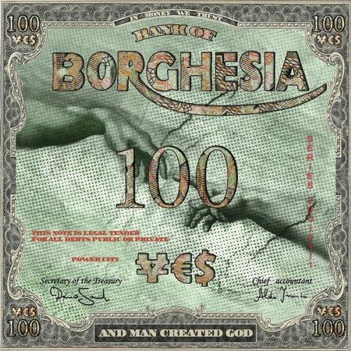 BORGHESIA And Man Created God LP VINYL 2014