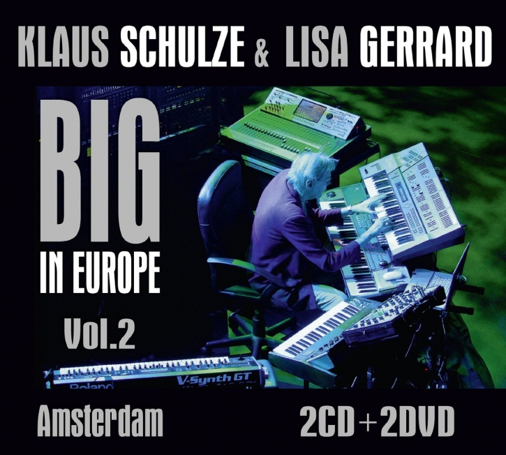 KLAUS SCHULZE & LISA GERRARD Big In Europe Vol.2: Amsterdam 2CD+2DVD 2014
