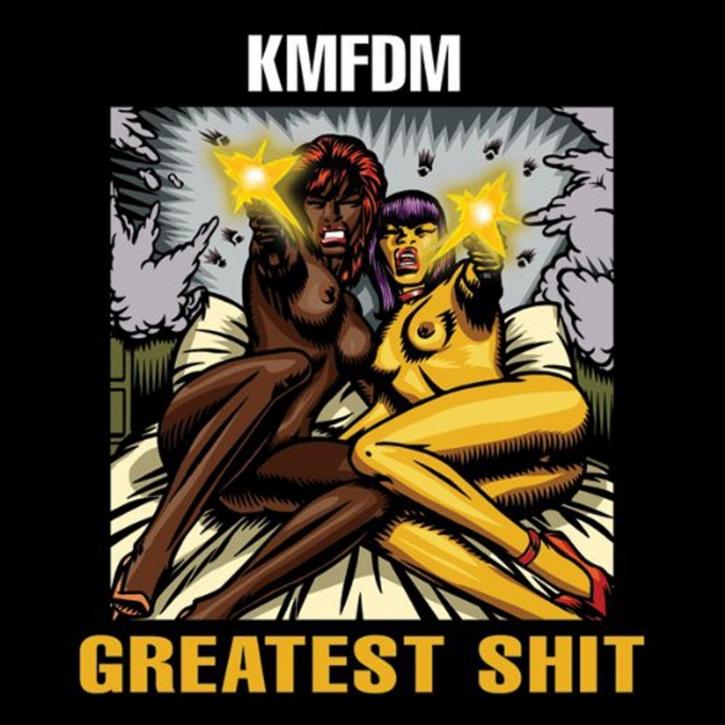 KMFDM Greatest Shit LIMITED 2CD 2010