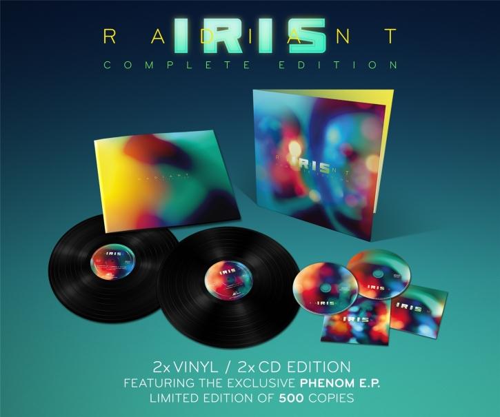 IRIS Radiant (Complete Edition) 2LP VINYL+2CD 2014 LTD.500