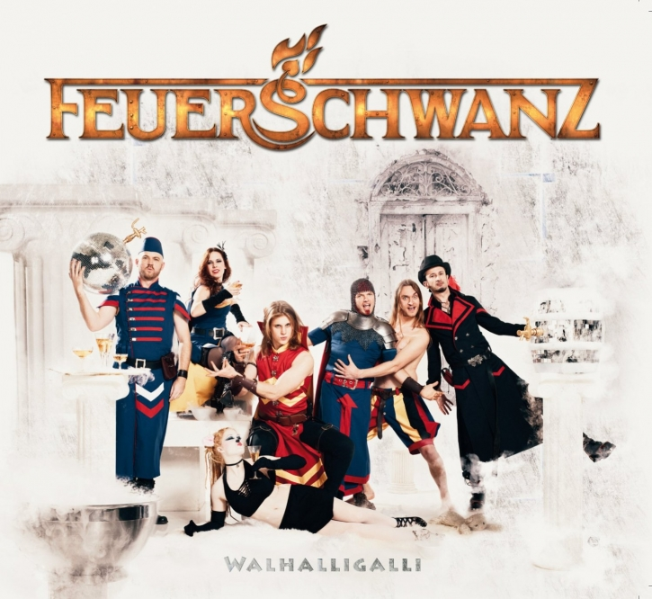 FEUERSCHWANZ Walhalligalli CD Digipack 2012