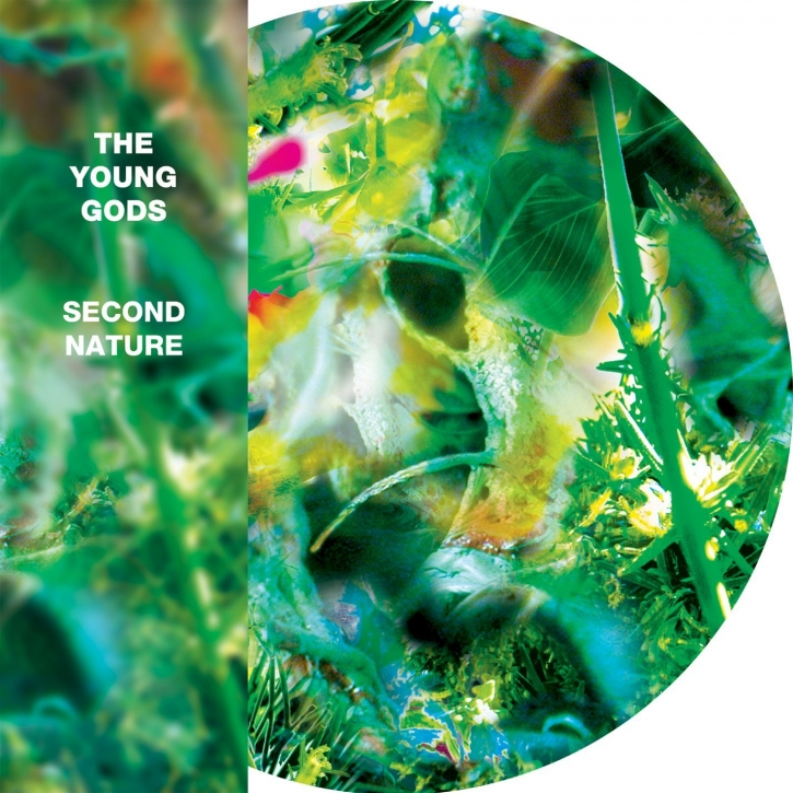 THE YOUNG GODS Second Nature LP PICTURE VINYL 2014 LTD.499