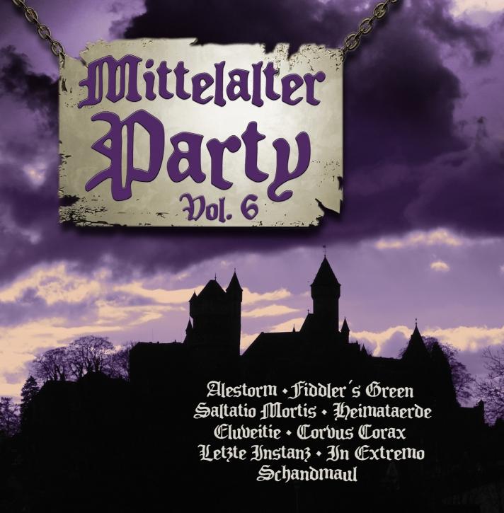 MITTELALTER PARTY VOL.6 VI CD 2014 Letzte Instanz OMNIA Saltatio Mortis