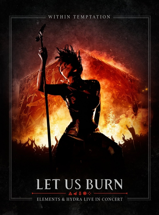 WITHIN TEMPTATION Let Us Burn (Elements & Hydra Live in Concert) 2CD+BLU-RAY