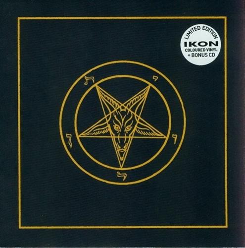 """IKON I burn for you 7"""" WHITE VINYL+CD 2014 LTD.100"""