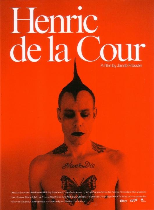 HENRIC DE LA COUR The Movie DVD 2014