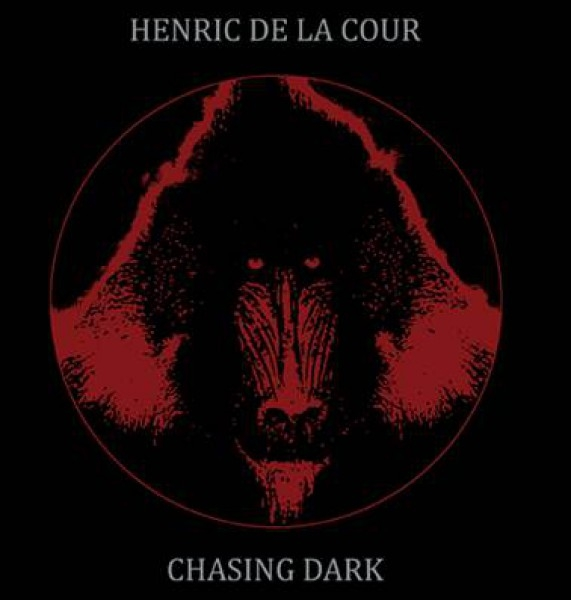 """HENRIC DE LA COUR Chasing Dark / Hidden Sleeve 7"""" VINYL 2014 LTD.300"""