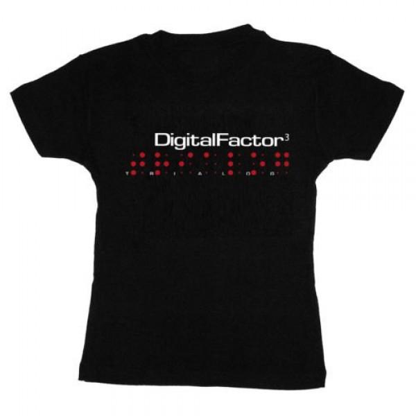 DIGITAL FACTOR Trialog Girlie-SHIRT L