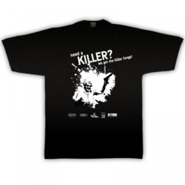 """Need a Killer?"" (Black Rain) T-SHIRT"