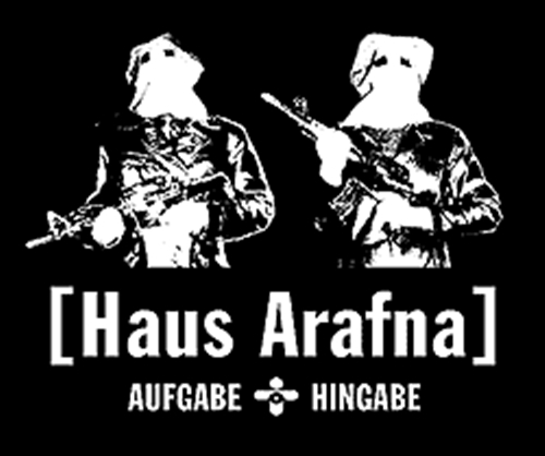HAUS ARAFNA Aufgabe + Hingabe T-SHIRT