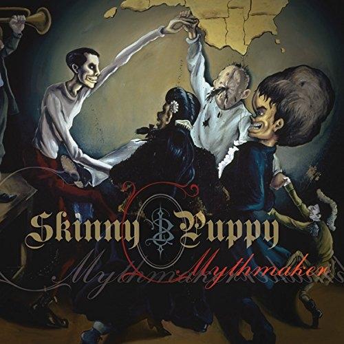 SKINNY PUPPY Mythmaker LIMITED LP VINYL 2014 + Download Code