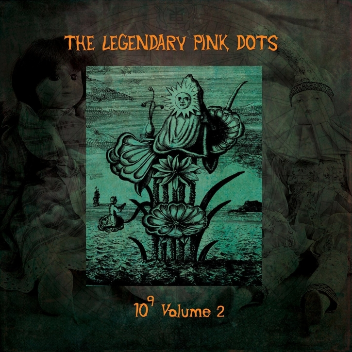 THE LEGENDARY PINK DOTS 10 to the Power of 9 Vol.2 LP VINYL 2014 LTD.299