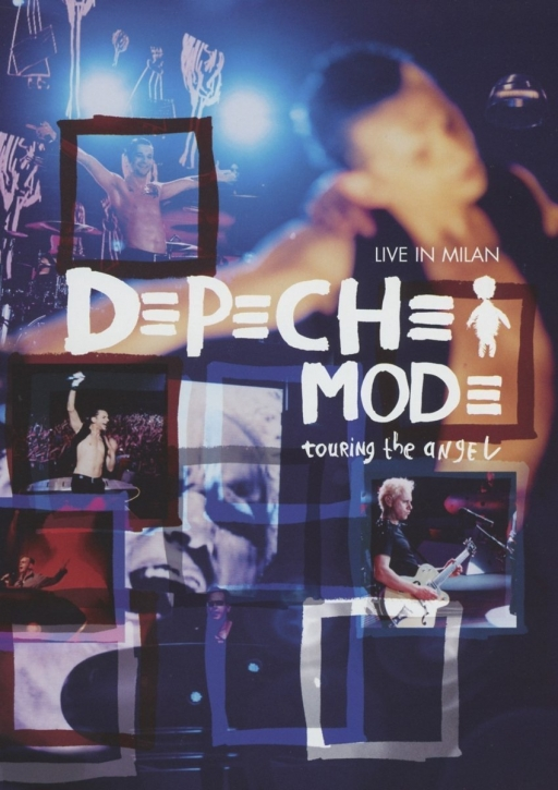 DEPECHE MODE Touring The Angel - Live In Milan DVD 2006 (Sony Music)