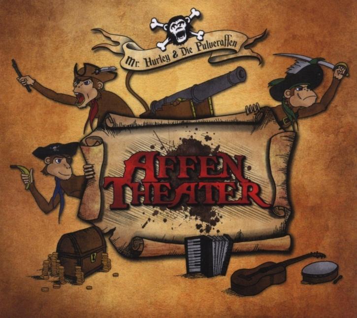 MR.HURLEY & DIE PULVERAFFEN Affentheater CD Digipack 2012