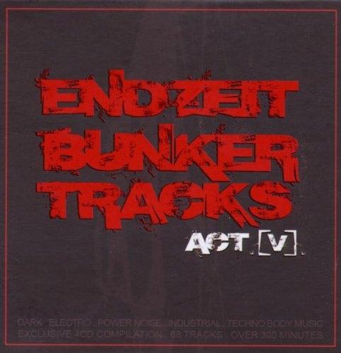 ENDZEIT BUNKERTRACKS 5 4CD BOX Feindflug COMBICHRIST