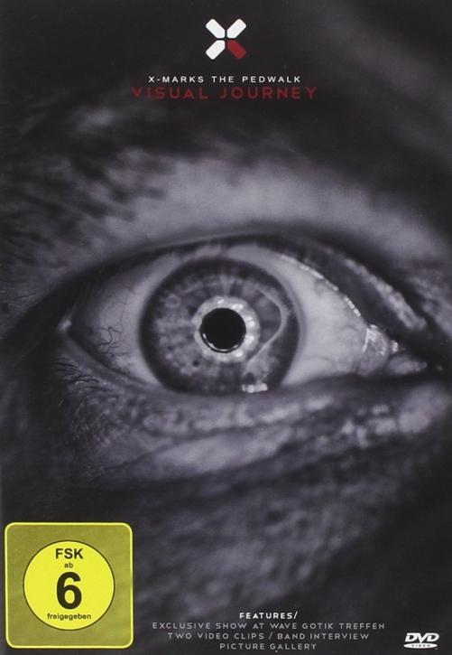 X MARKS THE PEDWALK Visual Journey DVD 2010