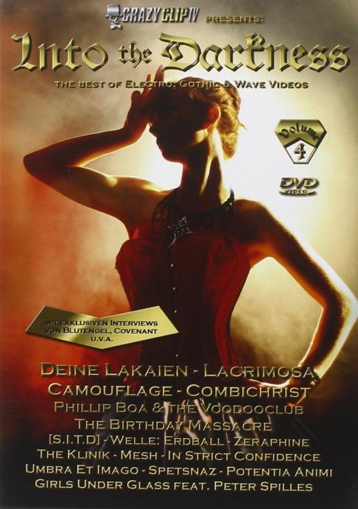INTO THE DARKNESS VOL.4 DVD Combichrist BLUTENGEL Lacrimosa DEINE LAKAIEN
