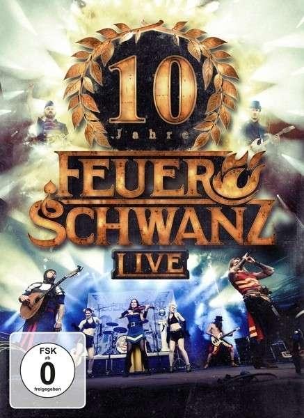 FEUERSCHWANZ 10 Jahre Feuerschwanz Live (Extended Edition) CD+DVD 2015