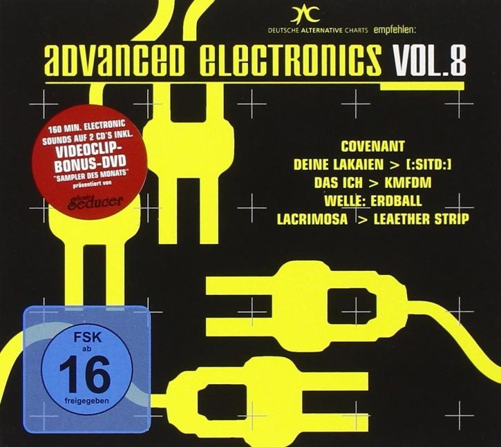 ADVANCED ELECTRONICS 8 2CD+DVD COVENANT Welle Erdball LACRIMOSA