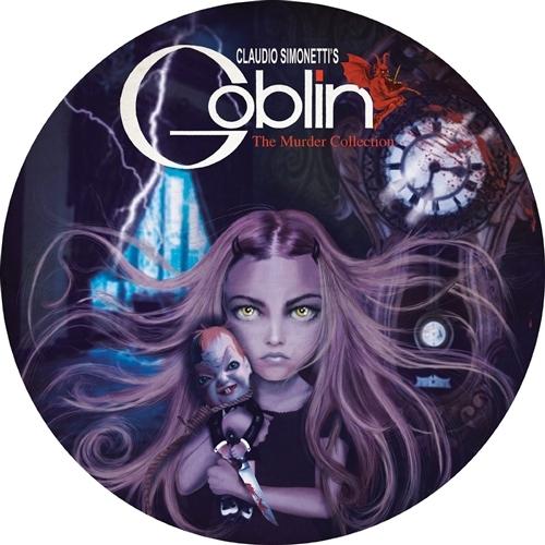 GOBLIN / CLAUDIO SIMONETTI's The Murder Collection LP PICTURE VINYL 2015 LTD.499