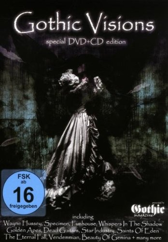 GOTHIC VISIONS VOL.1 DVD+CD 2009 Vendemmian STAR INDUSTRY