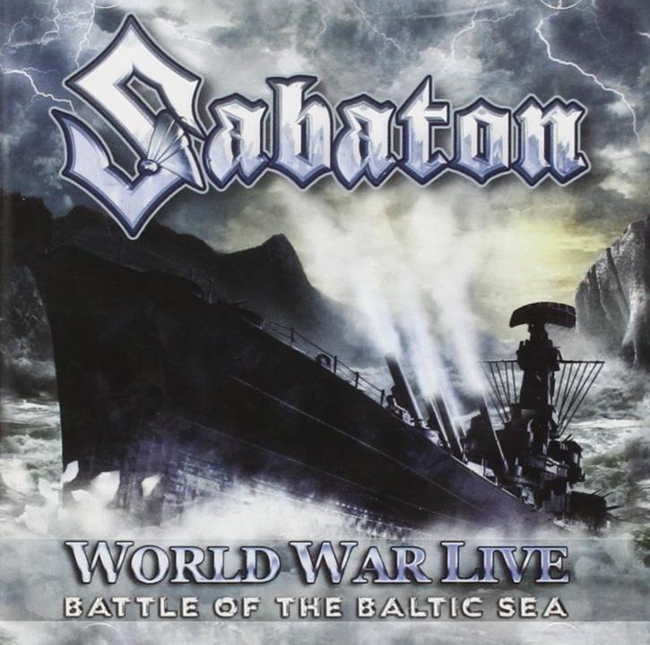SABATON World War Live: Battle Of The Baltic Sea CD 2011