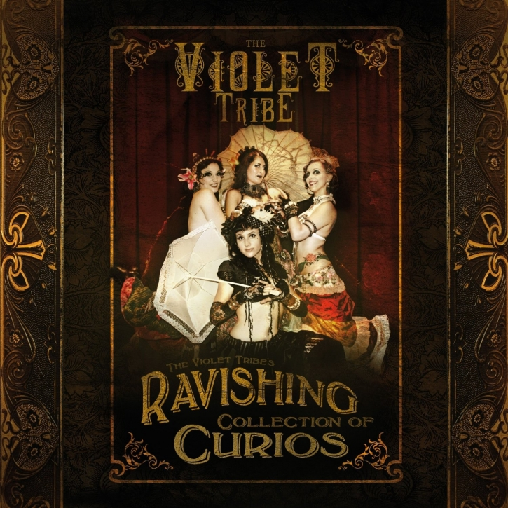 THE VIOLET TRIBE The Violet Tribe's Ravishing Collection of Curios CD Digipack 2010