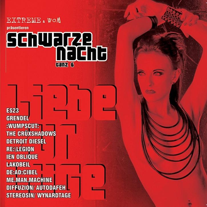 SCHWARZE NACHT 6 LIMITED CD Grendel WUMPSCUT The Crüxshadows ES23