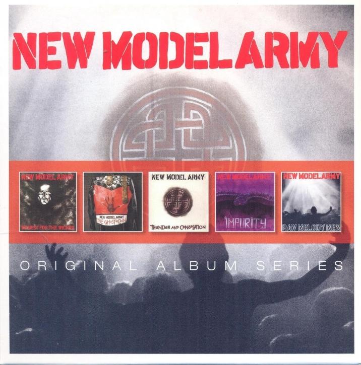NEW MODEL ARMY Original Album Series 5CD BOX 2014
