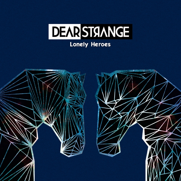 DEAR STRANGE Lonely Heroes LIMITED Clear Blue Vinyl+CD 2015