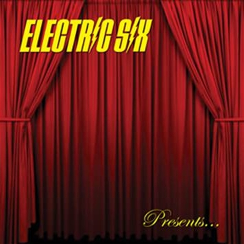 ELECTRIC SIX Bitch, don't let me die! LP VINYL 2015 LTD.500