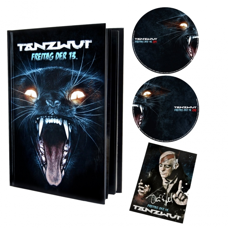 TANZWUT Freitag der 13. LIMITED 2CD BUCH EDITION (Mono Inc. LORD OF THE LOST)