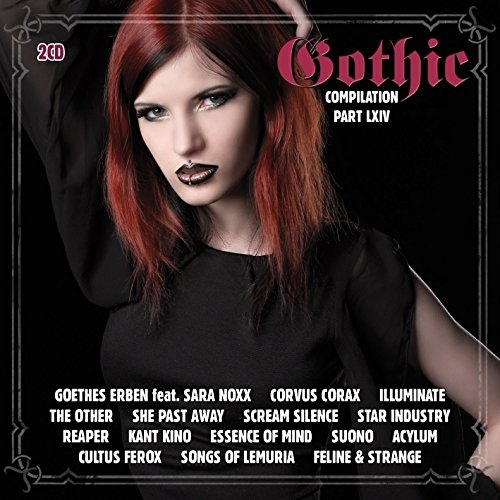 GOTHIC 64 2CD LEAVES EYES Corvus Corax SHE PAST AWAY Illuminate SCREAM SILENCE