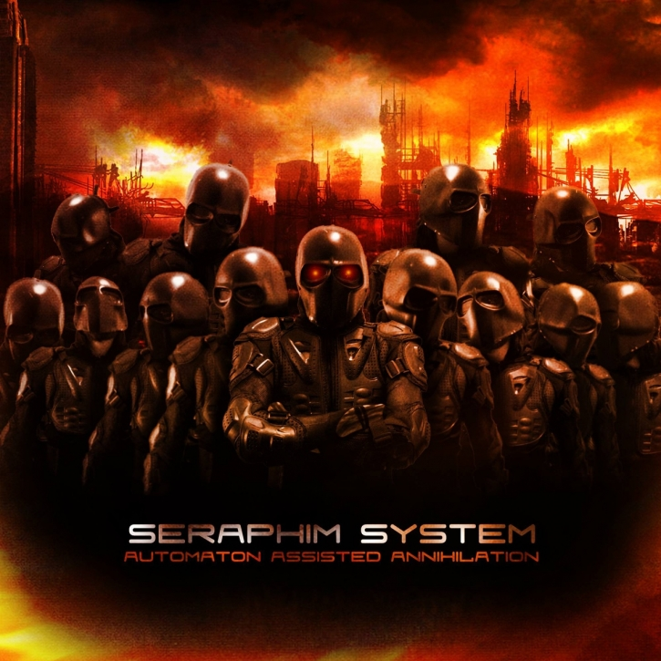 SERAPHIM SYSTEM Automaton Assisted Annihilation [Limited First Edition] CD 2015