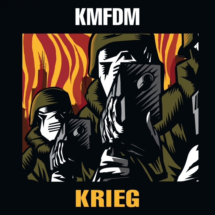 KMFDM Krieg (US Edition) CD 2010