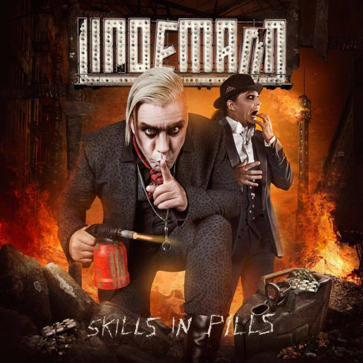 LINDEMANN Skills In Pills CD Digipack 2015 (RAMMSTEIN)