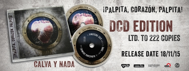 CALVA Y NADA ¡Palpita, Corazón, Palpita! 2CD 2015 LTD.222